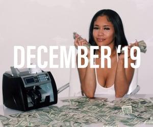 cash, december, and dollars image