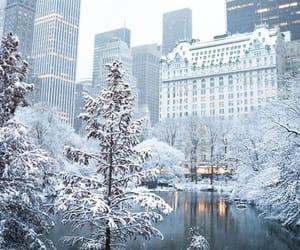winter, beautiful, and city image