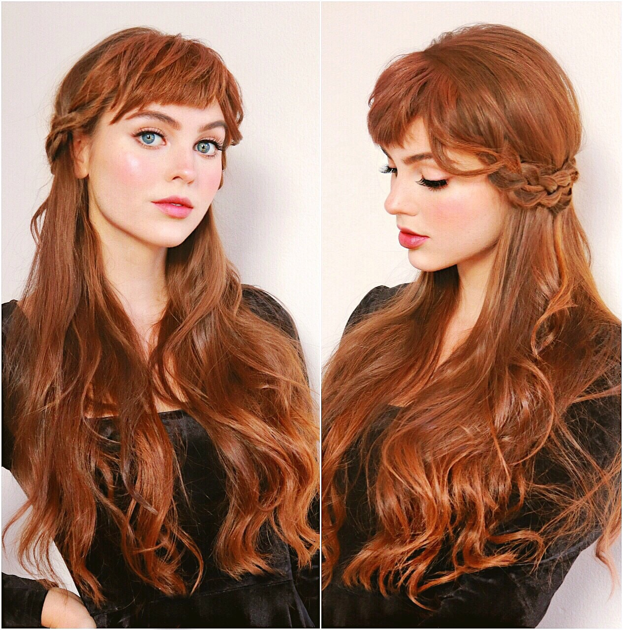 Anna Frozen Hairstyle Step By Step
