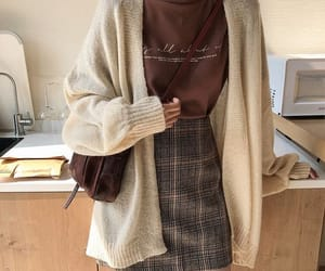 fashion, aesthetic, and brown image