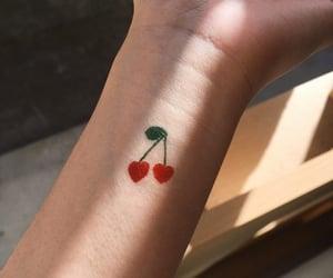 tattoo and cherry image