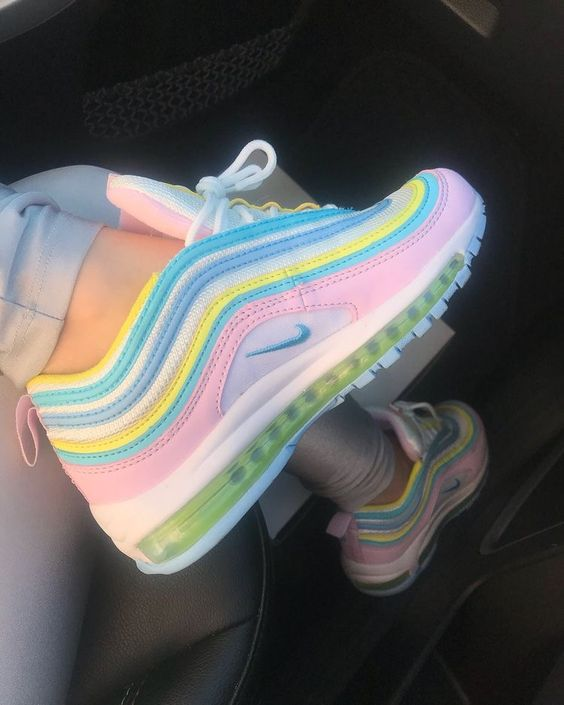 rainbow shoes nike