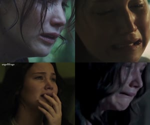 Collage, cry, and fandom image