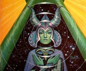 acid, alien, and art image