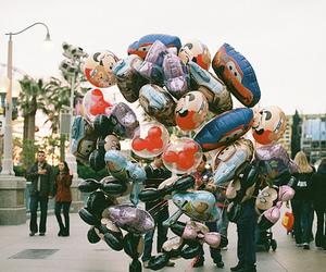 balloons, photography, and disney image