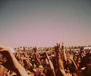 concert, summer, and people image