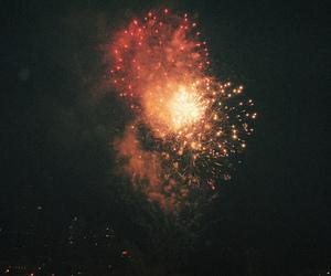 fireworks, vintage, and indie image