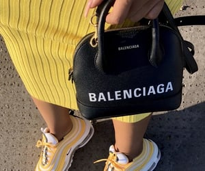 bags, shoes, and baddie image