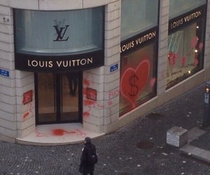 cash, Louis Vuitton, and dolar image