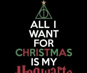 black, christmas, and harry potter image