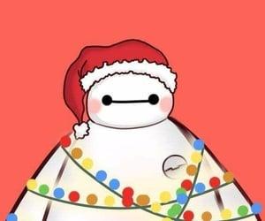 christmas, wallpaper, and baymax image