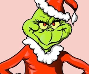 christmas, wallpaper, and grinch image