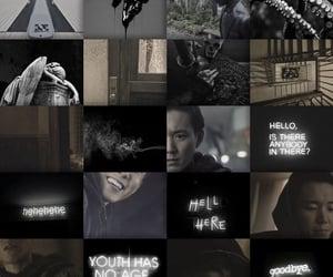 black, edit, and fandom image
