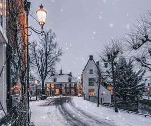 winter, snow, and aesthetic image