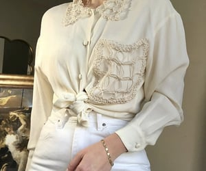 clothes, clothing, and cream image