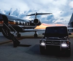 luxury, car, and black image