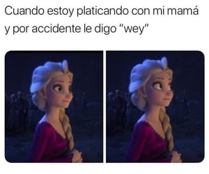 frozen, humor, and mama image
