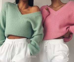 clothes, girls, and outfits image