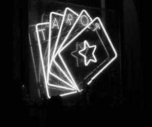 future, tarot, and cards image