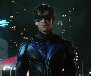 dick grayson, nightwing, and titans dc image