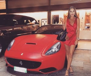 cars, luxury lifestyle, and pretty women image