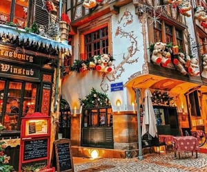 christmas, architecture, and france image