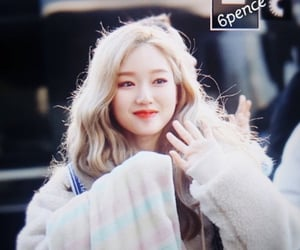 gowon, loona, and park chaewon image