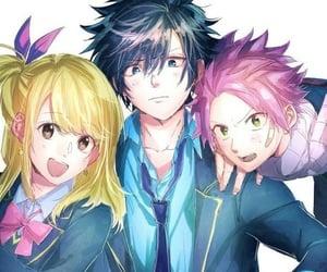 anime, boys, and girl image