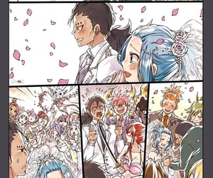anime, romance, and fairy tail image