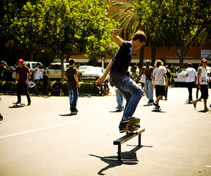 beautiful, photography, and skate image