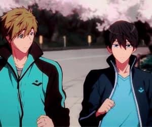 anime, makoto, and haruka nanase image