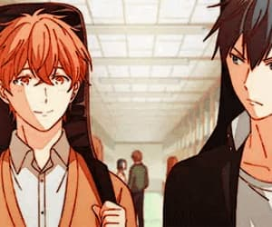 gif, given, and anime image