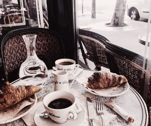 coffee, breakfast, and cafe image