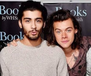 zayn malik, stylik, and Harry Styles image