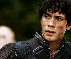 gif, bellamy blake, and the 100 image