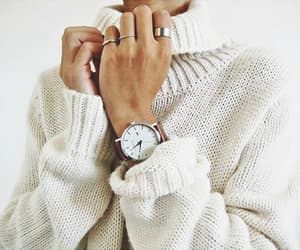 sweater, white, and accessories image