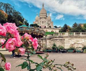 architecture, beauty, and flowers image