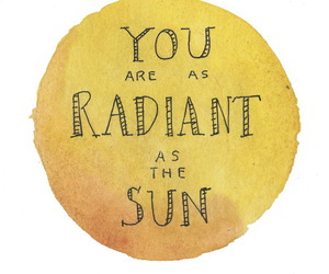 sun, radiant, and love image