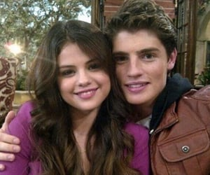 selena gomez, gregg sulkin, and wizards of waverly place image