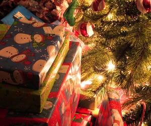 presents, christmas, and tree image