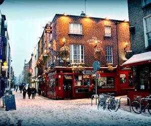 snow, winter, and ireland image