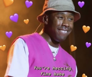 hearts, reaction, and tyler image