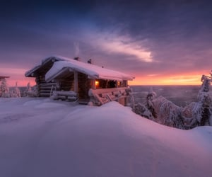 beautiful, finland, and photography image