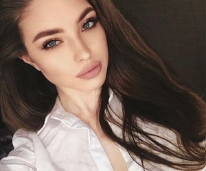 girl, lips, and pretty image