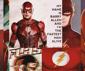 DC, flash, and movie image