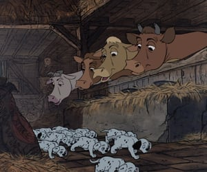 101 dalmatians, animation, and classic image