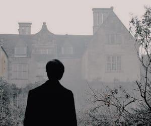 aesthetic, dark, and mist image