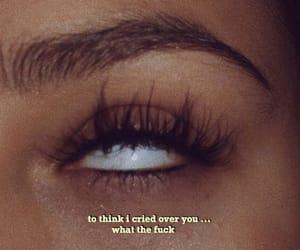eye, hair, and make up image