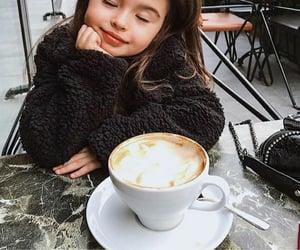 coffee, girl, and cute image