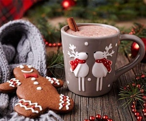Cinnamon, cozy, and hot chocolate image